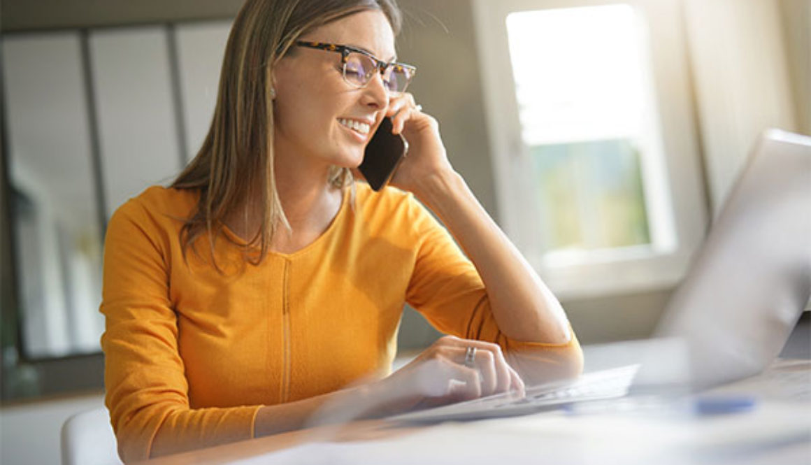 woman on telemedicine appointment speaking with doctor