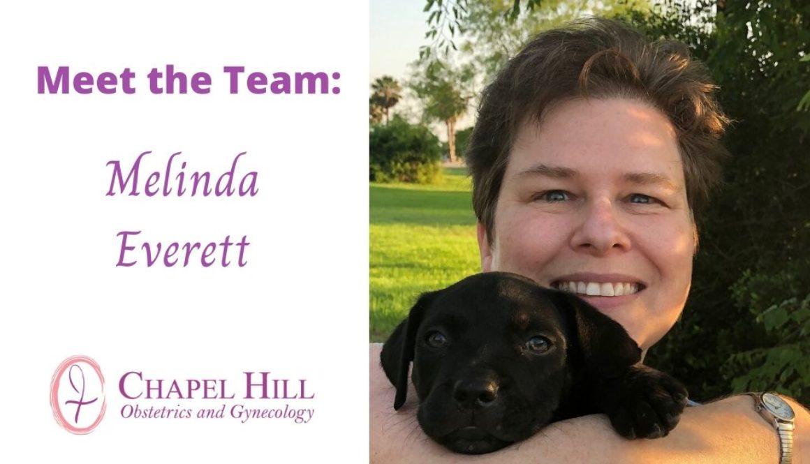 meet the team melinda everett